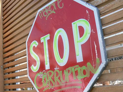Stop korupciji, fotografiju snimio: Kenny Miller